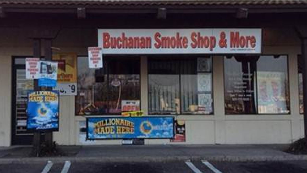 A winning Powerball ticket worth $1.4 million was sold at Buchanan Smoke Shop & More in Antioch, Calif.
