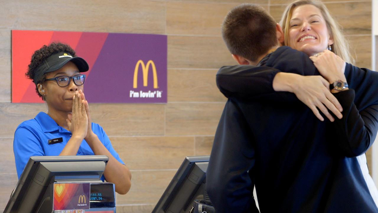 """McDonald's """"Pay With Lovin'"""""""