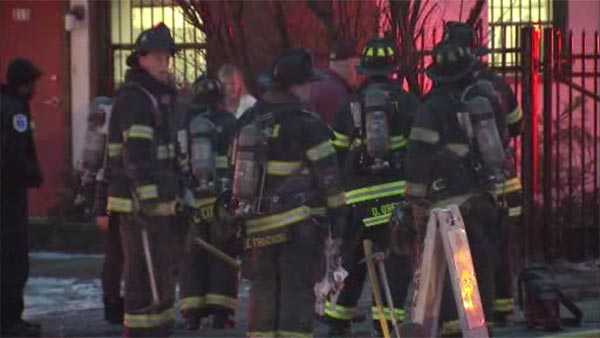 Fire damages dry cleaning business in Camden,