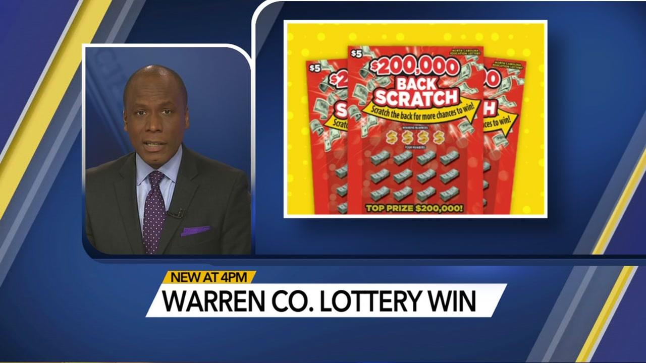 Warren County man wins $200,000 on scratch-off ticket