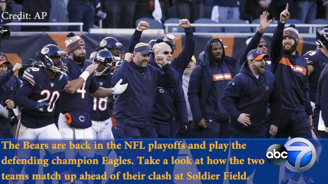 20bff5899 Bears and Eagles to play at Soldier Field for NFL Wild Card playoff game