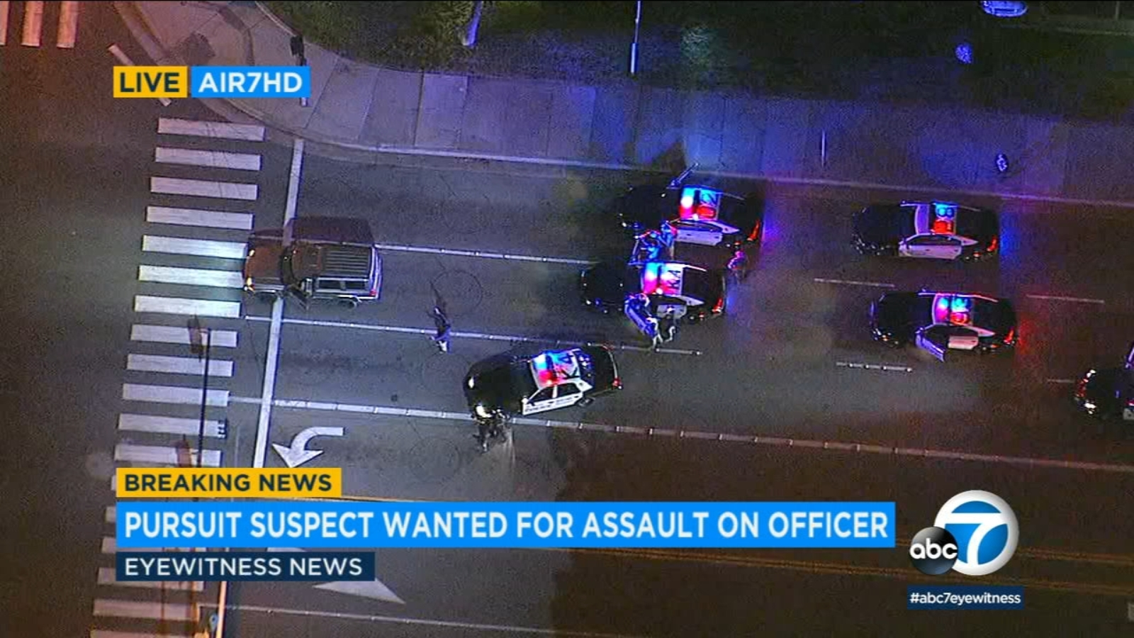 Chase suspect in custody after wild pursuit from IE to OC