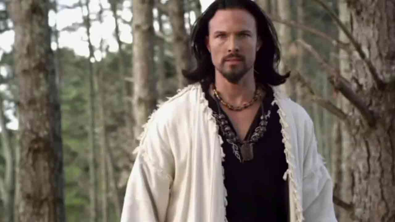 Actor Ricardo Medina Jr., 36, is seen in a still from the 'Power Rangers Samurai' TV series.