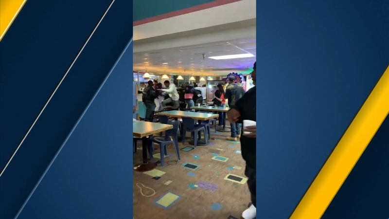 VIDEO: Moment shots ring out during Torrance bowling alley fight