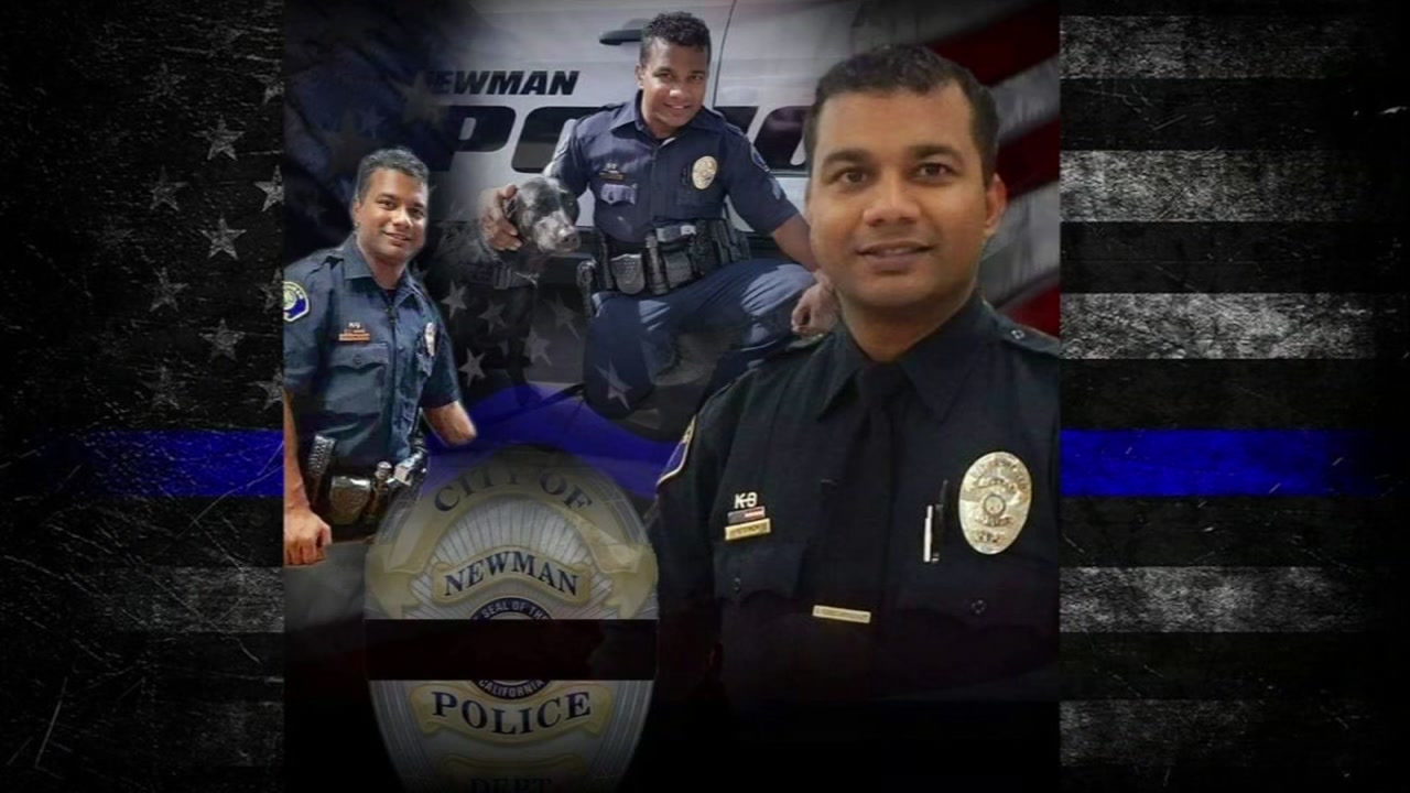 Man charged with murder in shooting death of Newman officer