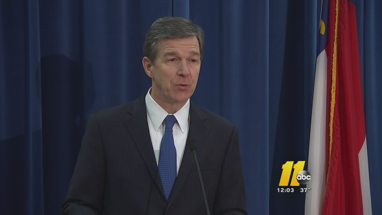 North Carolina Attorney General Roy Cooper.