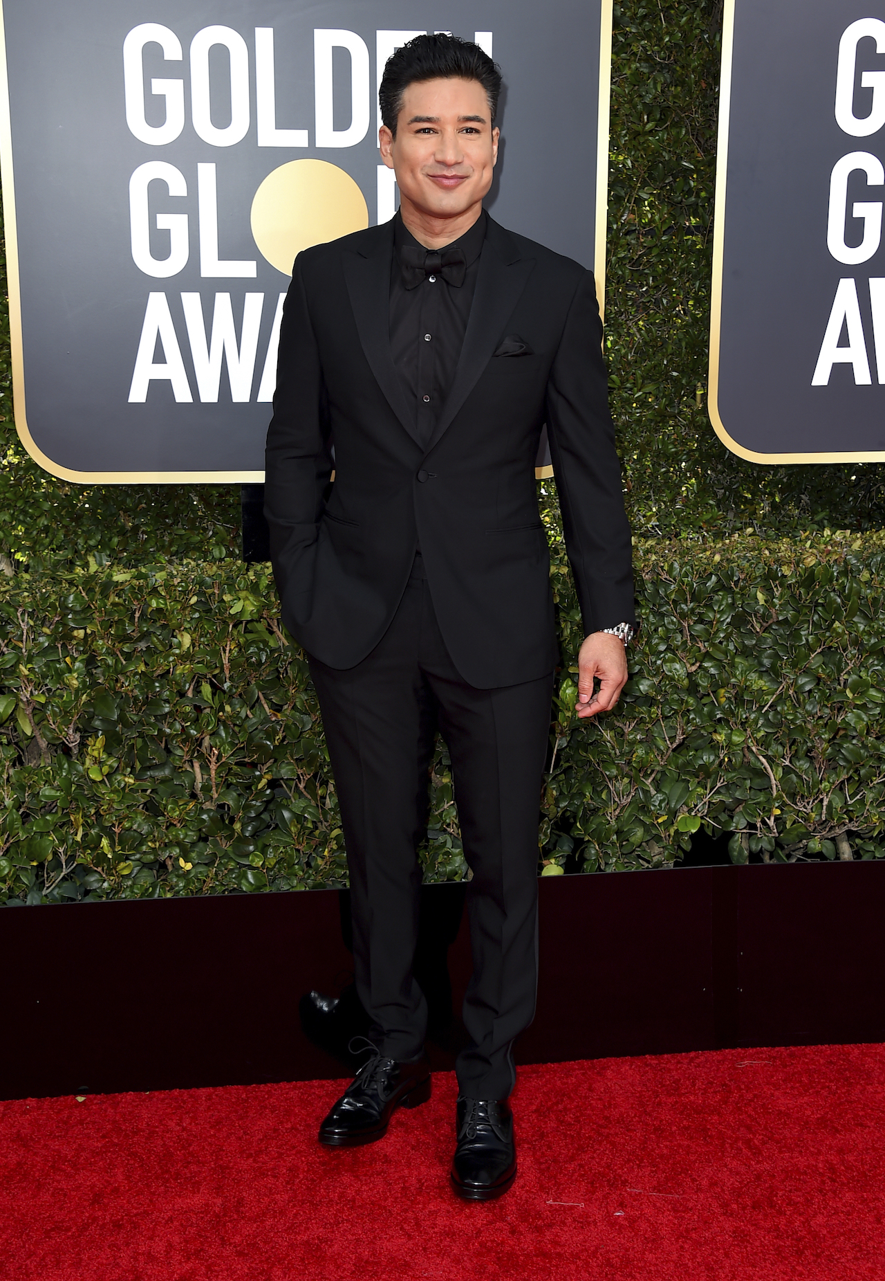 "<div class=""meta image-caption""><div class=""origin-logo origin-image ap""><span>AP</span></div><span class=""caption-text"">Mario Lopez arrives at the 76th annual Golden Globe Awards at the Beverly Hilton Hotel on Sunday, Jan. 6, 2019, in Beverly Hills, Calif. (Jordan Strauss/Invision/AP)</span></div>"