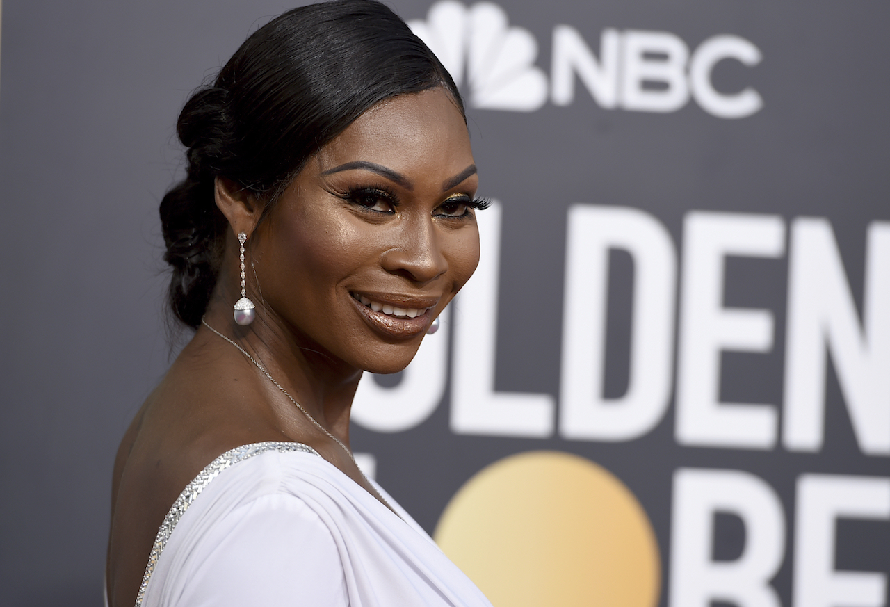 <div class='meta'><div class='origin-logo' data-origin='AP'></div><span class='caption-text' data-credit='Jordan Strauss/Invision/AP'>Dominique Jackson arrives at the 76th annual Golden Globe Awards at the Beverly Hilton Hotel on Sunday, Jan. 6, 2019, in Beverly Hills, Calif.</span></div>