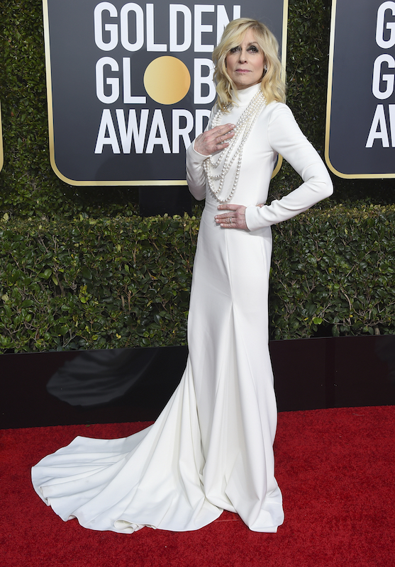 <div class='meta'><div class='origin-logo' data-origin='AP'></div><span class='caption-text' data-credit='Jordan Strauss/Invision/AP'>Judith Light arrives at the 76th annual Golden Globe Awards at the Beverly Hilton Hotel on Sunday, Jan. 6, 2019, in Beverly Hills, Calif.</span></div>