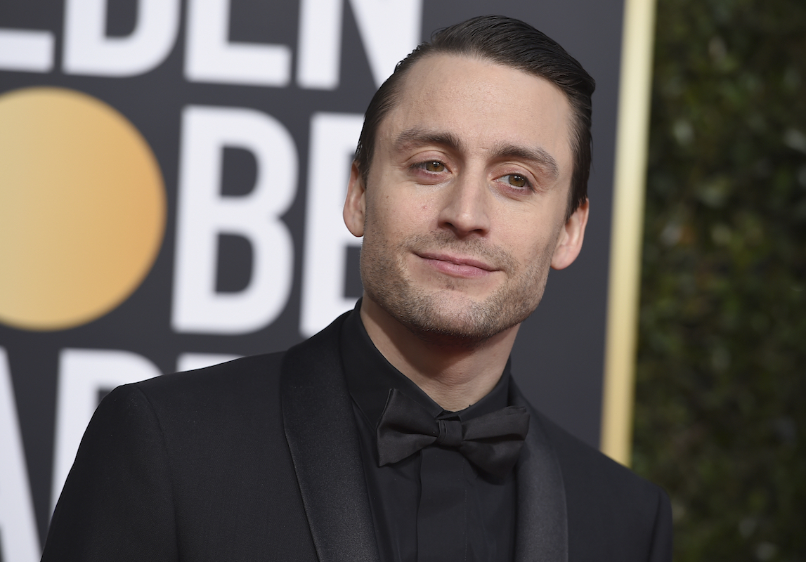 <div class='meta'><div class='origin-logo' data-origin='AP'></div><span class='caption-text' data-credit='Jordan Strauss/Invision/AP'>Kieran Culkin arrives at the 76th annual Golden Globe Awards at the Beverly Hilton Hotel on Sunday, Jan. 6, 2019, in Beverly Hills, Calif.</span></div>
