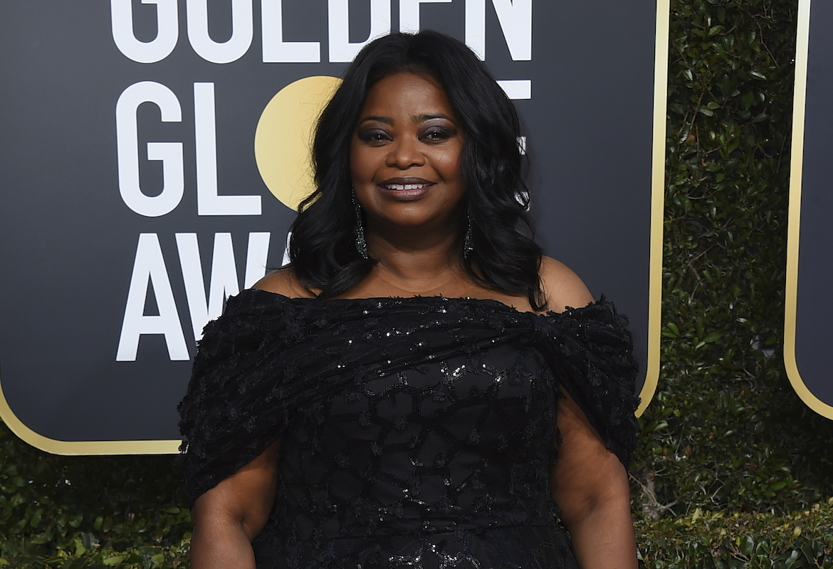 <div class='meta'><div class='origin-logo' data-origin='AP'></div><span class='caption-text' data-credit='Jordan Strauss/Invision/AP'>Octavia Spencer arrives at the 76th annual Golden Globe Awards at the Beverly Hilton Hotel on Sunday, Jan. 6, 2019, in Beverly Hills, Calif.</span></div>
