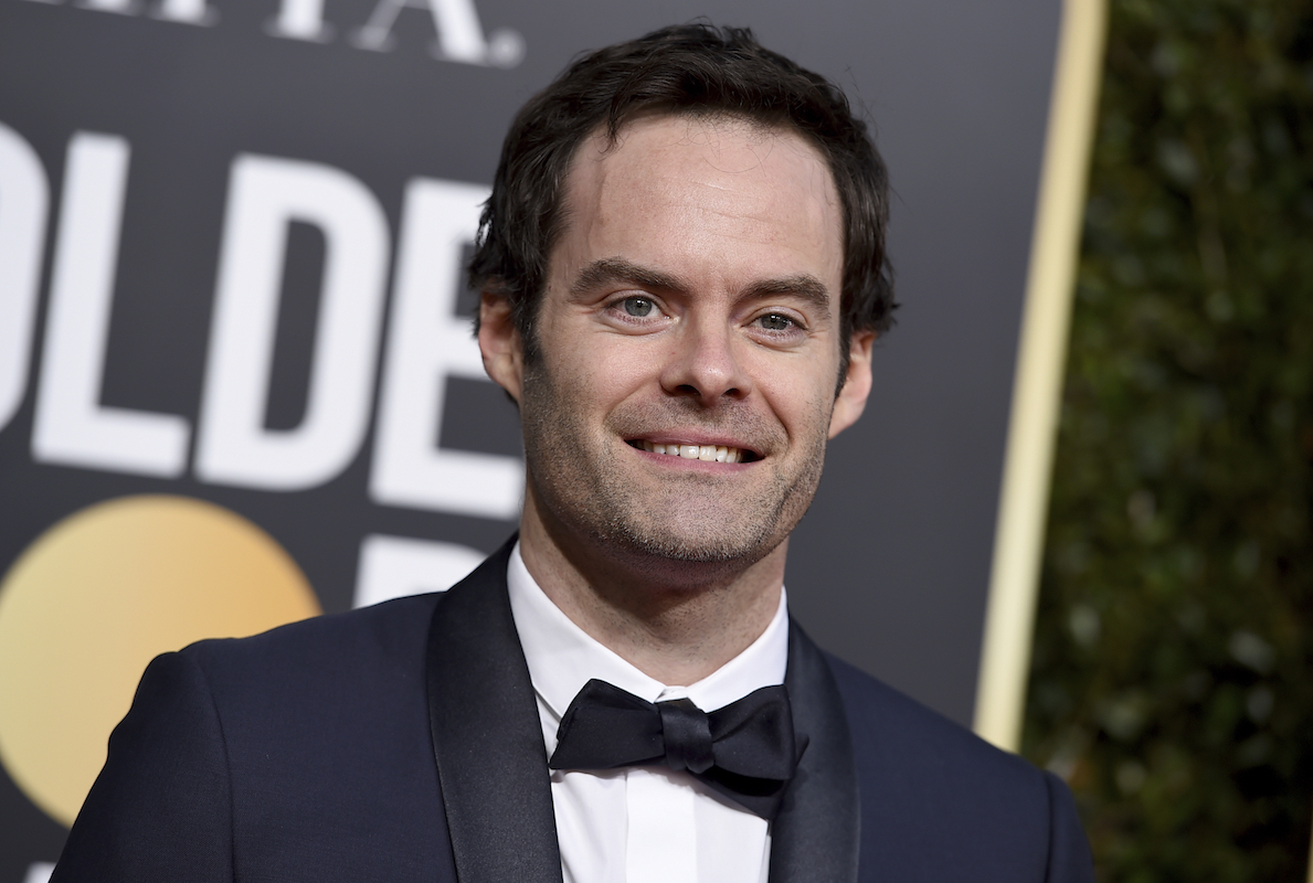 <div class='meta'><div class='origin-logo' data-origin='AP'></div><span class='caption-text' data-credit='Jordan Strauss/Invision/AP'>Bill Hader arrives at the 76th annual Golden Globe Awards at the Beverly Hilton Hotel on Sunday, Jan. 6, 2019, in Beverly Hills, Calif.</span></div>