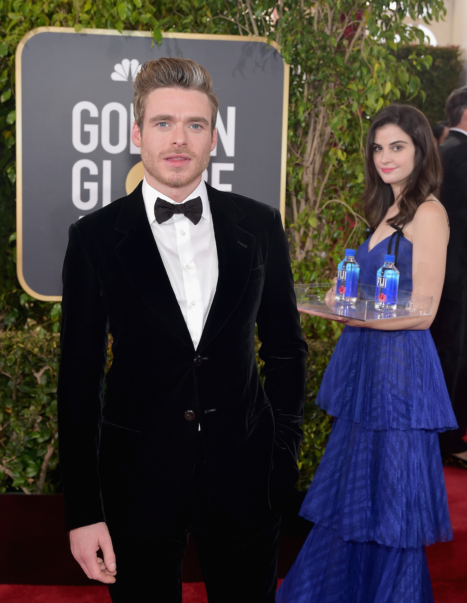 <div class='meta'><div class='origin-logo' data-origin='Creative Content'></div><span class='caption-text' data-credit='Stefanie Keenan/Getty Images for FIJI Water'>The so-called 'FIJI water girl' appears at the 76th Annual Golden Globe Awards on January 6, 2019, at the Beverly Hilton in Los Angeles, California.</span></div>