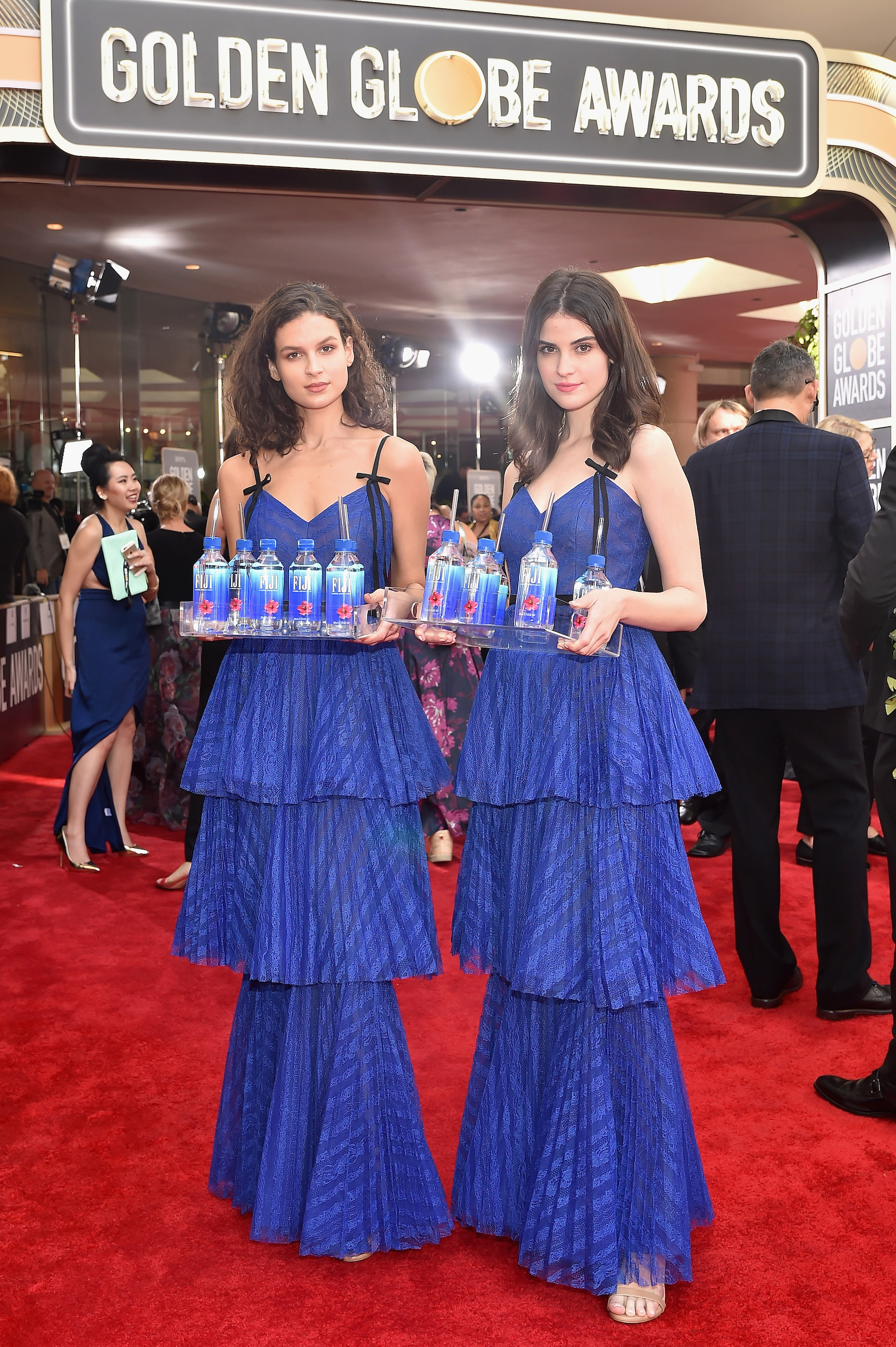 <div class='meta'><div class='origin-logo' data-origin='Creative Content'></div><span class='caption-text' data-credit='Stefanie Keenan/Getty Images for FIJI Water'>FIJI Water at the 76th Annual Golden Globe Awards on January 6, 2019 at the Beverly Hilton  in Los Angeles, California.</span></div>