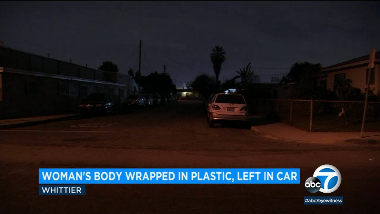 Woman S Body Found Wrapped In Plastic In Car In Driveway Of Murder