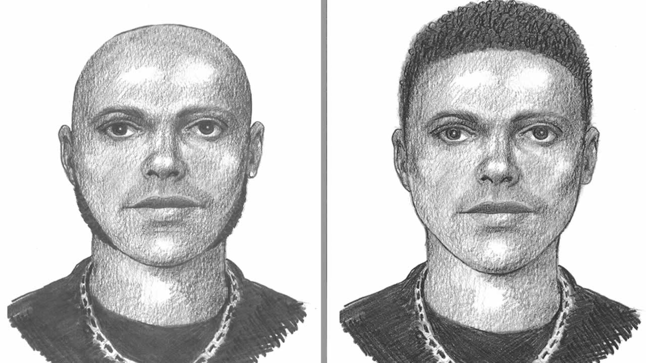 Police have released two versions of a suspect sketch in the fatal shooting of a man at a Wiz Khalifa and Young Jeezy concert in Mountain View, Calif. on Aug. 22, 2014.