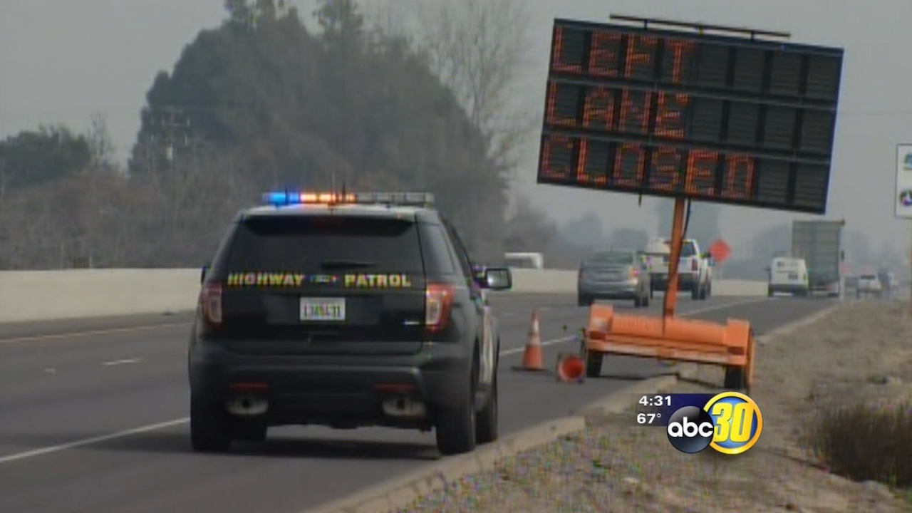 Multiple fog-related crashes close Highway 198 between Lemoore and Hanford