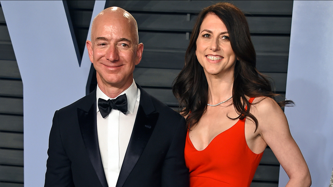 Jeff Bezos And Wife Mackenzie To Divorce After 25 Years Amazon