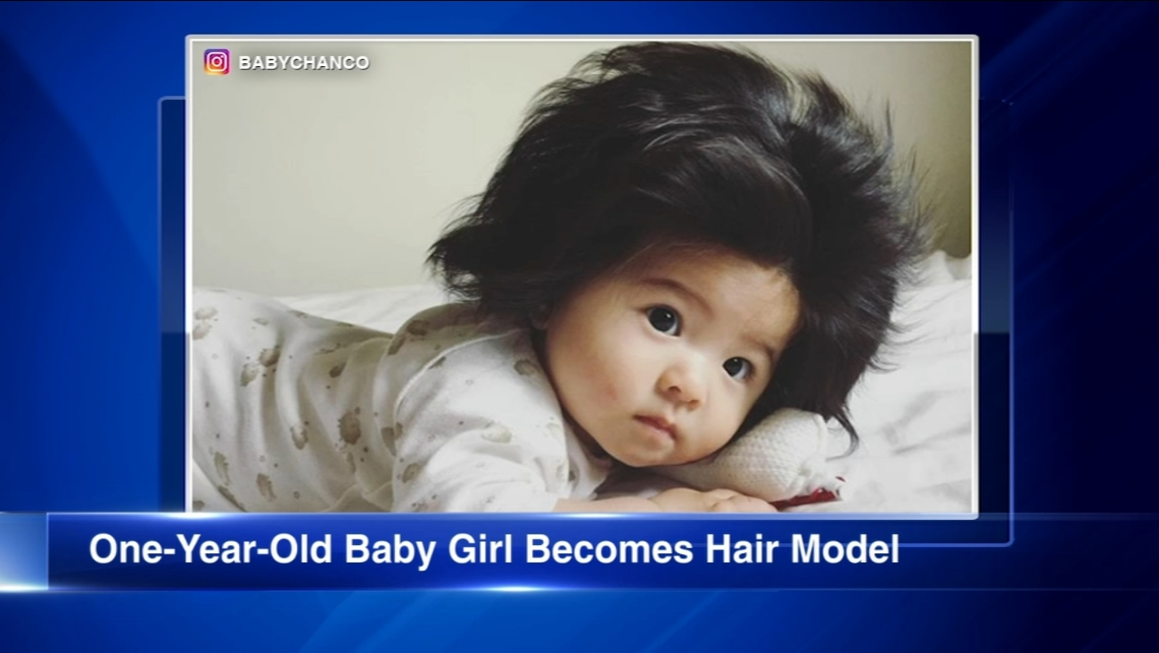 Baby Chanco Goes Viral For Her Luxurious Locks Becomes Hair Model