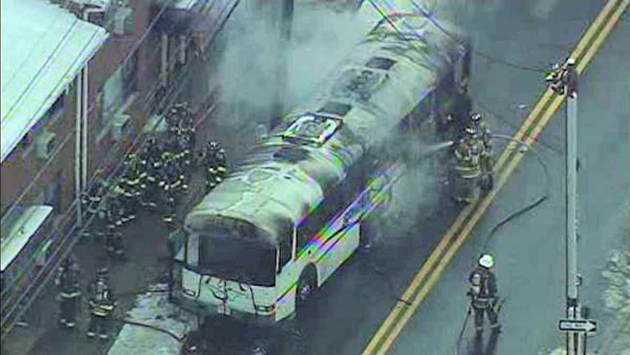 fairview bus fire