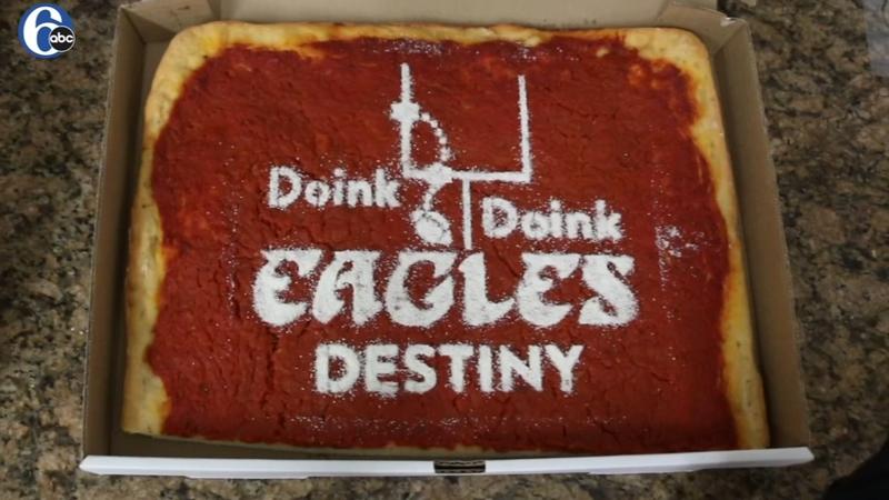 Commemorating The Double Doink With Tomato Pie 6abc Philadelphia