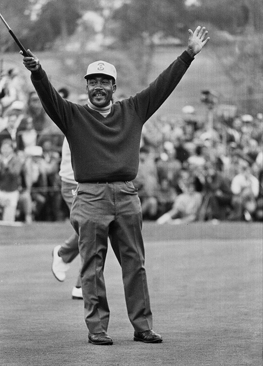 <div class='meta'><div class='origin-logo' data-origin='AP'></div><span class='caption-text' data-credit=''>Charlie Sifford, who fought the Caucasian-only clause on the PGA Tour and became its first black member in 1961, died Tuesday, Feb. 3, 2015. He was 92.</span></div>