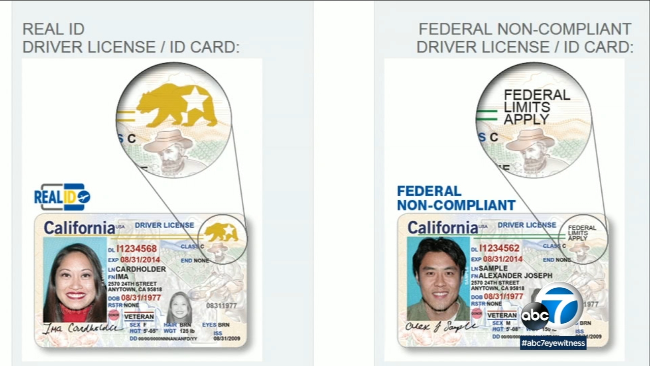 Real Licenses Abc7 Security Extension Ca Be Homeland Fly Used Id Temporary Allowing Driver's Grants com To
