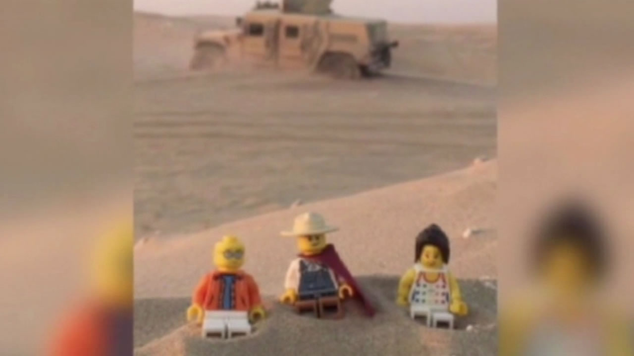 Zackary Trissell used Legos to connect with his stepsons during his deployment.