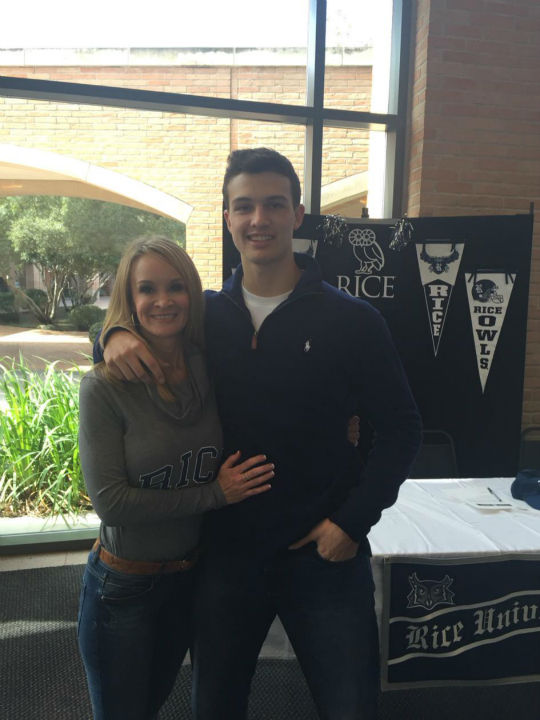 "<div class=""meta image-caption""><div class=""origin-logo origin-image none""><span>none</span></div><span class=""caption-text"">ABC-13 News Director Wendy Granato's son, John Tyler, signed with Rice University</span></div>"
