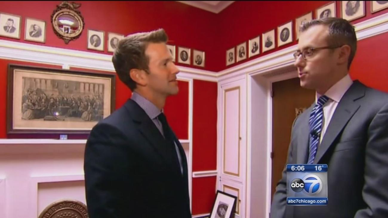 IL congressman breaks silence since office makeover