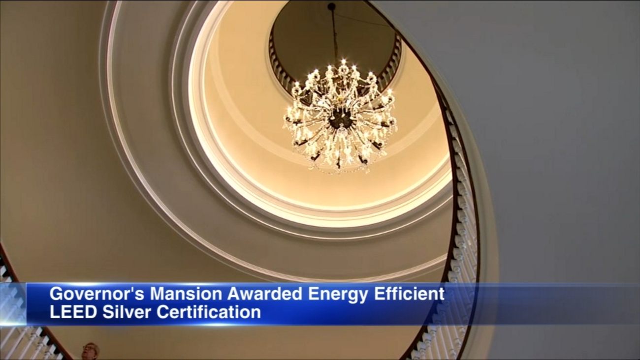 Illinois Governors Mansion Awarded Leed Certification By Us Green