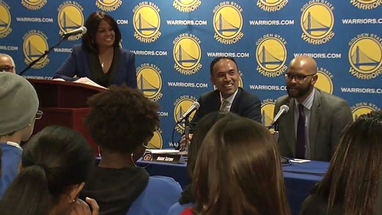 Warriors panel for students on Black History Month