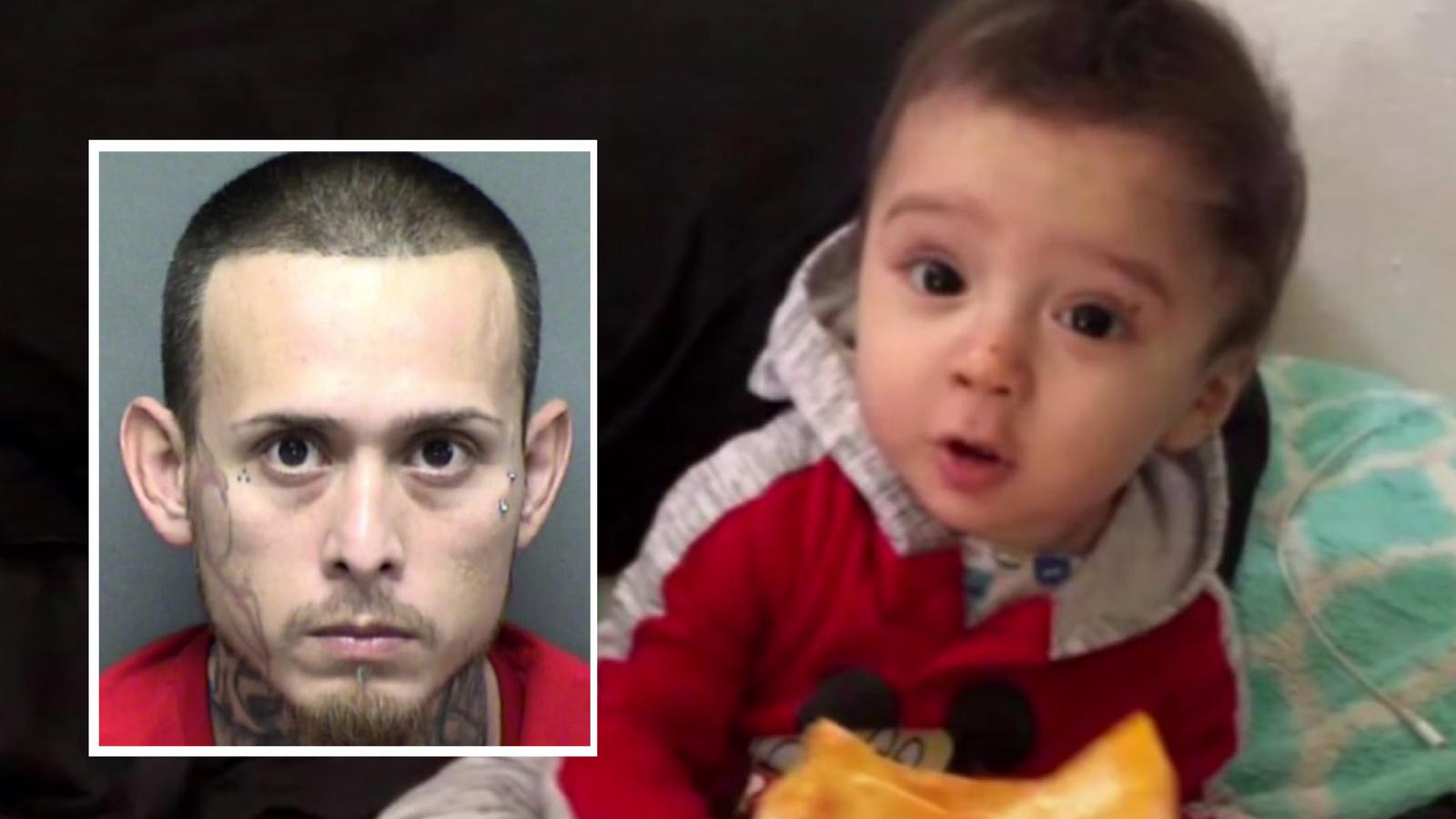 9b9bc74b3c7 Police find body of 8-month-old King Jay Davila inside backpack in San  Antonio