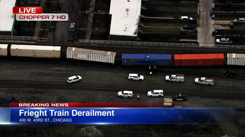 Metra SWS commute snarled by freight train derailment