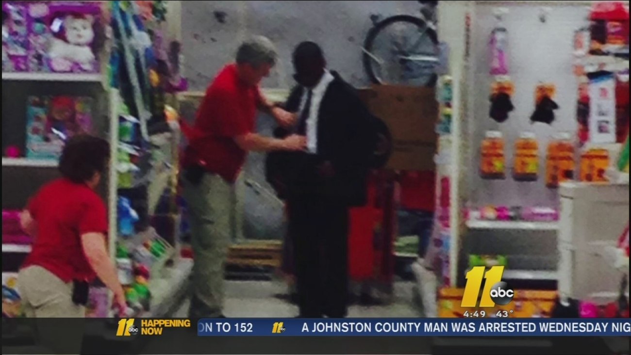 Target Employees Help Young Man Prep For Job Interview Tie His Tie