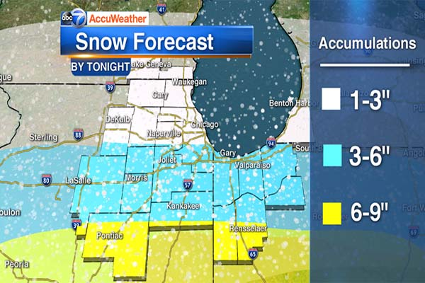 dc1dc715e Snow is expected in the Chicago area Saturday. (Mark McGinnis)