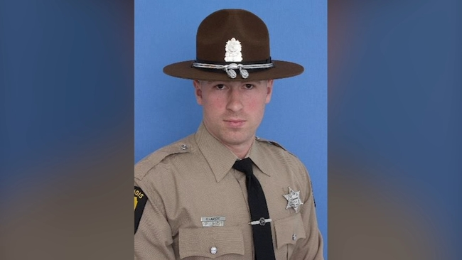 illinois state police mourn trooper fatally struck on i 294 in northbrook