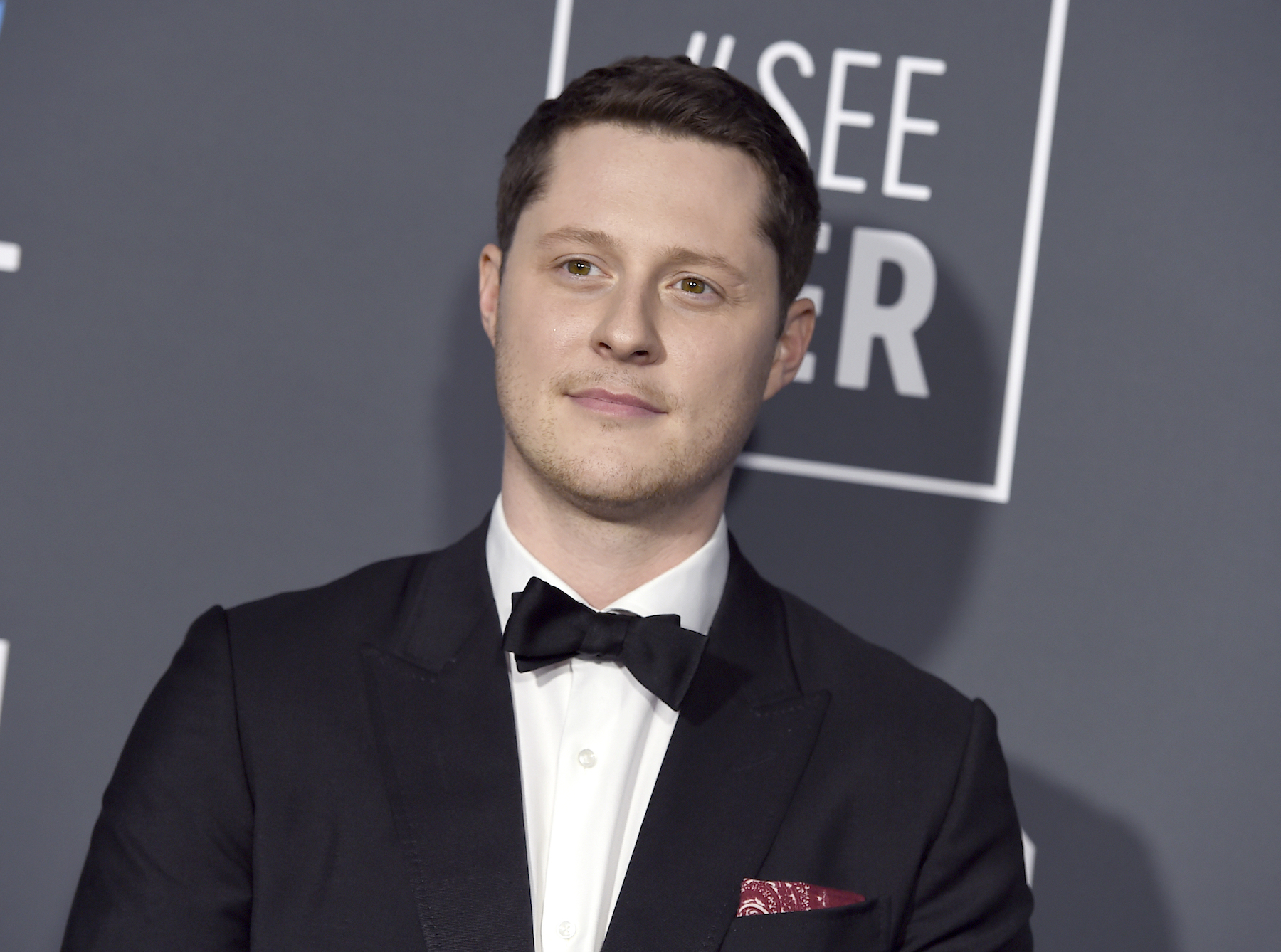 <div class='meta'><div class='origin-logo' data-origin='AP'></div><span class='caption-text' data-credit='Jordan Strauss/Invision/AP'>Noah Reid arrives at the 24th annual Critics' Choice Awards on Sunday, Jan. 13, 2019, at the Barker Hangar in Santa Monica, Calif.</span></div>