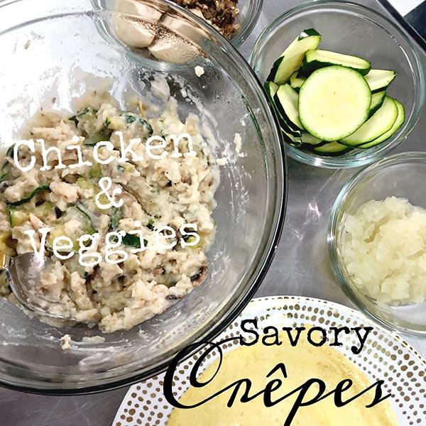 savory crepes