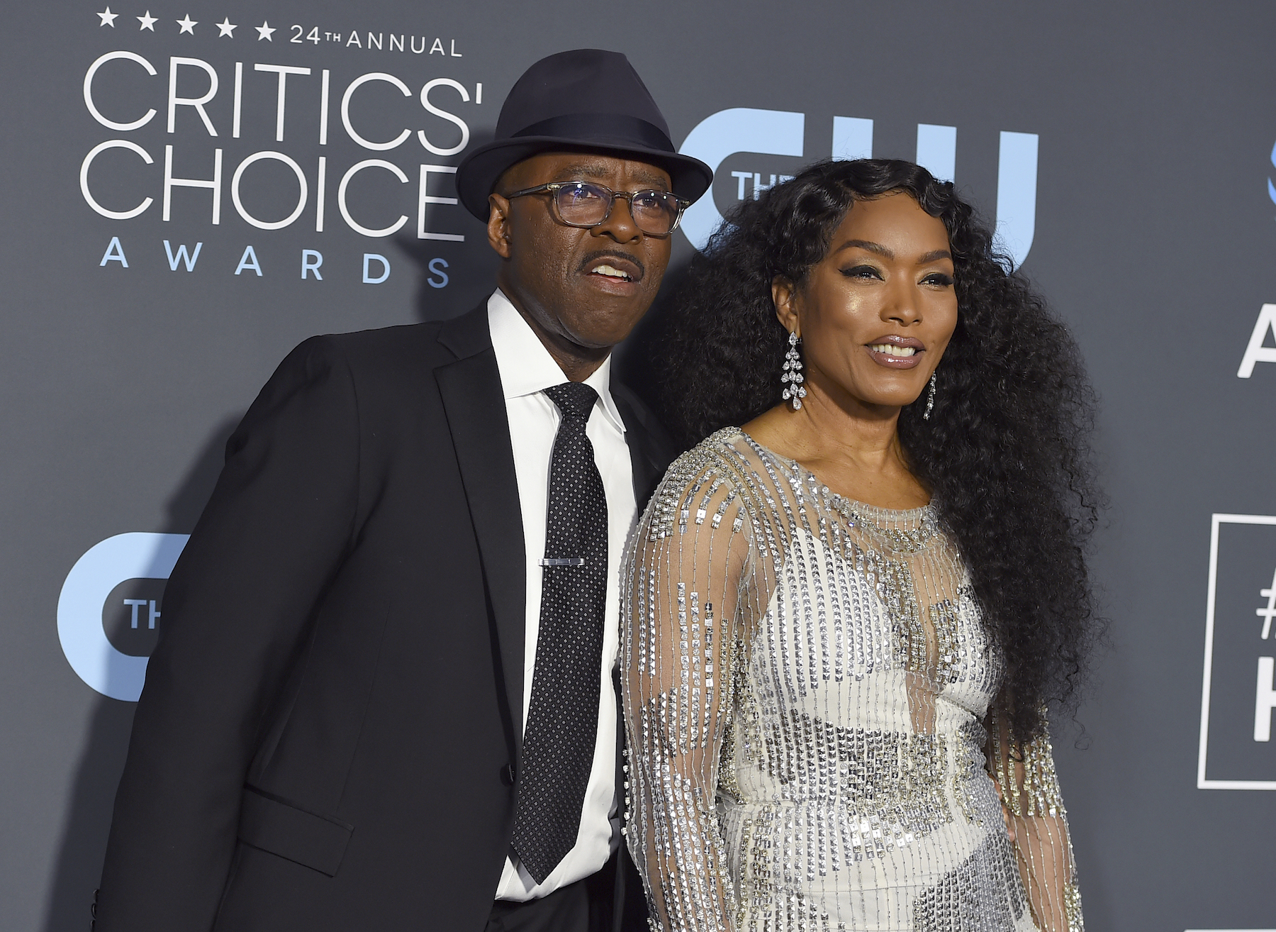 <div class='meta'><div class='origin-logo' data-origin='AP'></div><span class='caption-text' data-credit='Jordan Strauss/Invision/AP'>Courtney B. Vance, left, and Angela Bassett arrive at the 24th annual Critics' Choice Awards on Sunday, Jan. 13, 2019, at the Barker Hangar in Santa Monica, Calif.</span></div>