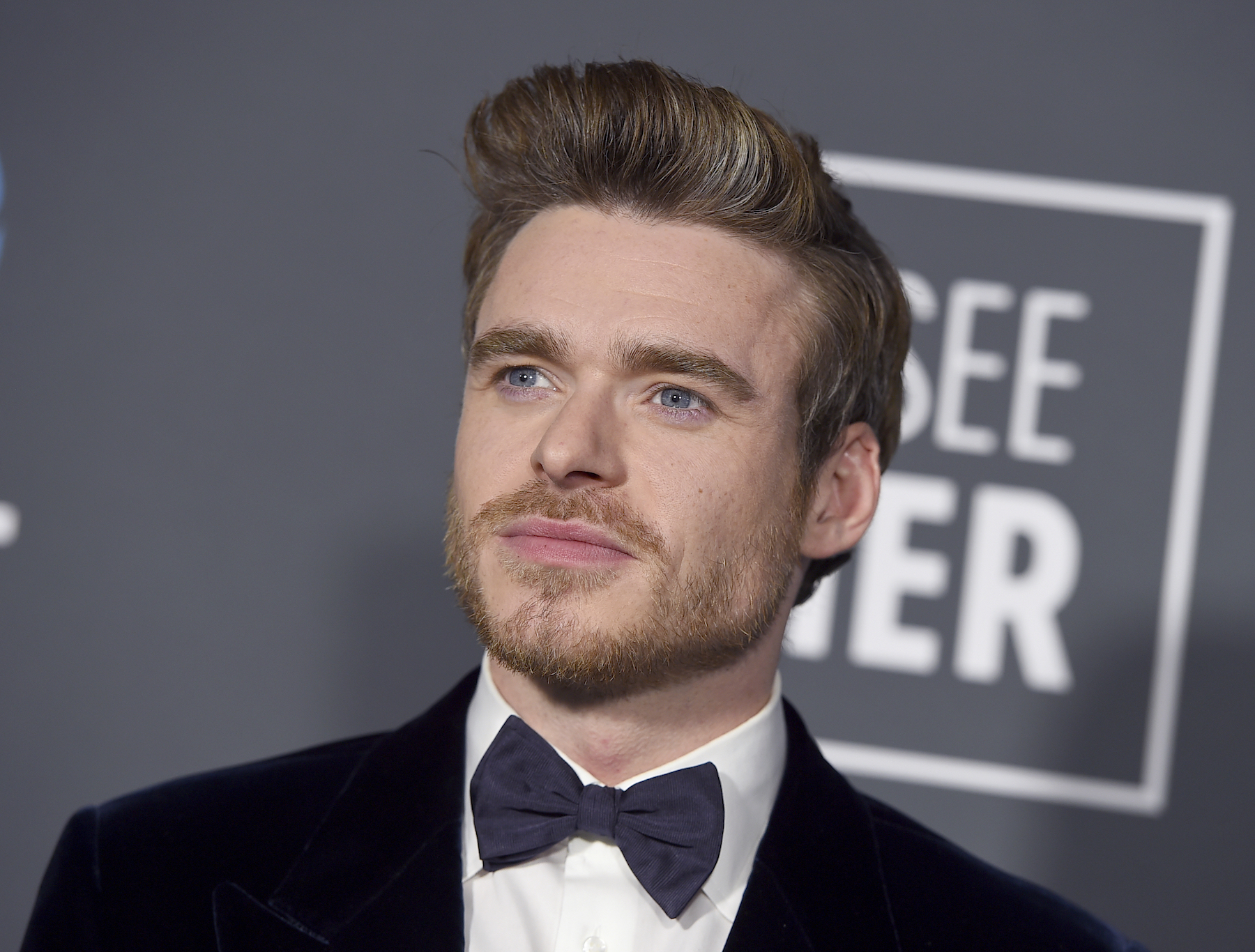 <div class='meta'><div class='origin-logo' data-origin='AP'></div><span class='caption-text' data-credit='Jordan Strauss/Invision/AP'>Richard Madden arrives at the 24th annual Critics' Choice Awards on Sunday, Jan. 13, 2019, at the Barker Hangar in Santa Monica, Calif.</span></div>