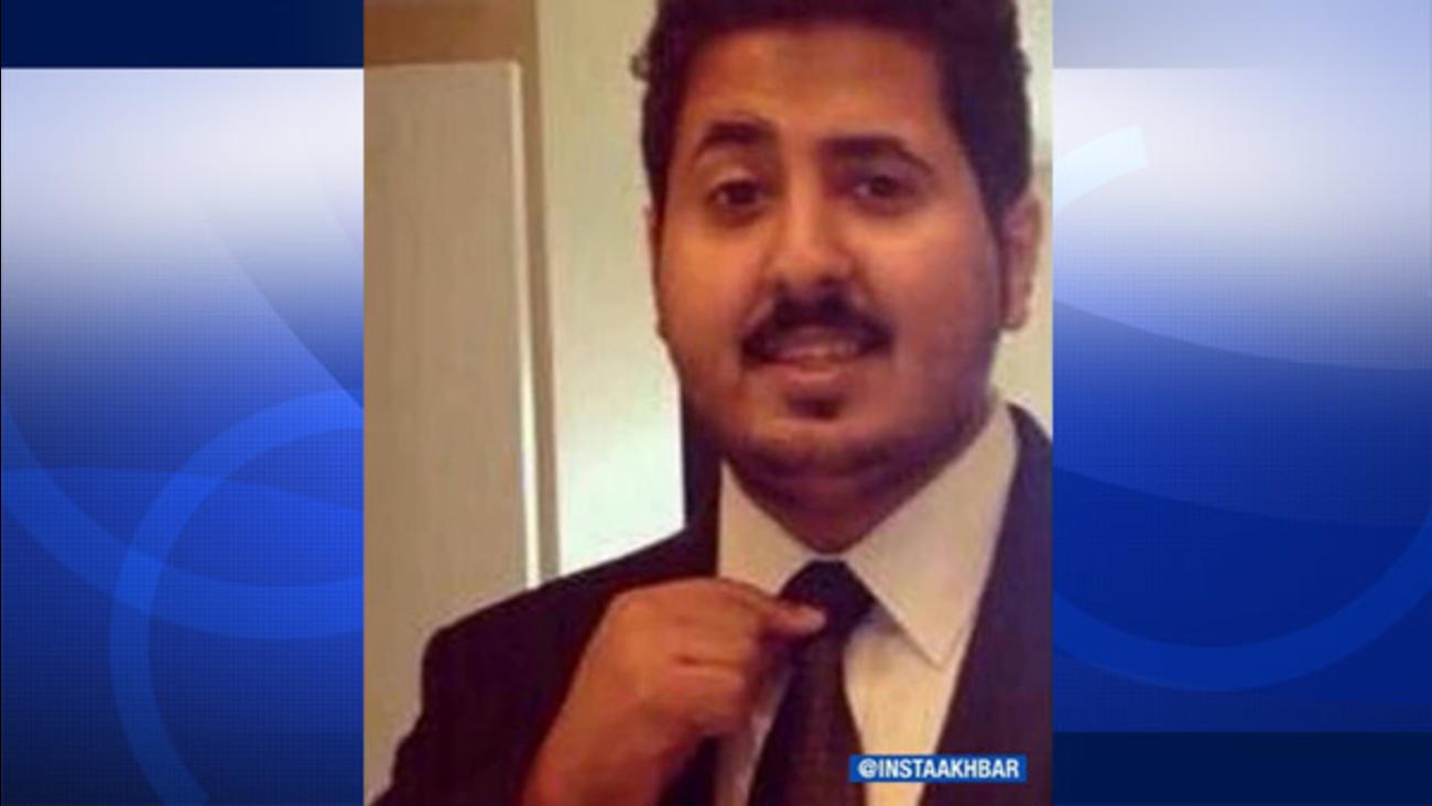 Mansour Alhazawbar, 21, is seen in an undated photo.