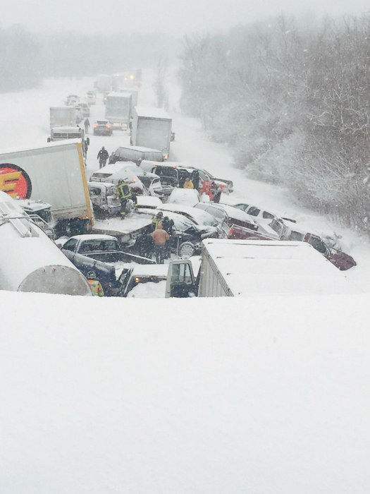 "<div class=""meta image-caption""><div class=""origin-logo origin-image none""><span>none</span></div><span class=""caption-text"">Photos from a massive pile-up on Interstate 81 north of Syracuse on Friday. (Photo/Pro Towing)</span></div>"