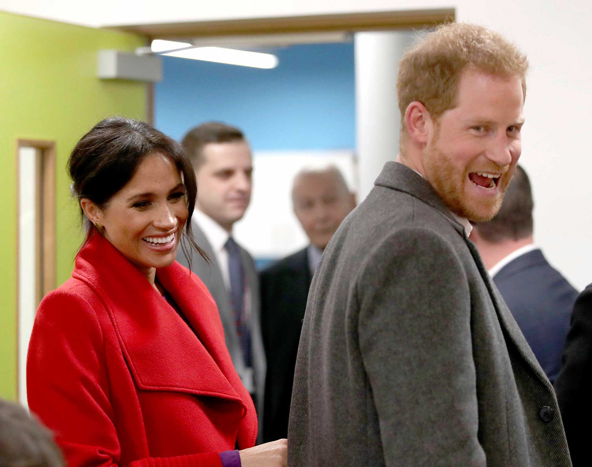 <div class='meta'><div class='origin-logo' data-origin='none'></div><span class='caption-text' data-credit='Danny Lawson/PA Wire via AP'>The Duke and Duchess of Sussex at the Hive, Wirral Youth Zone as part of a visit to Birkenhead.</span></div>
