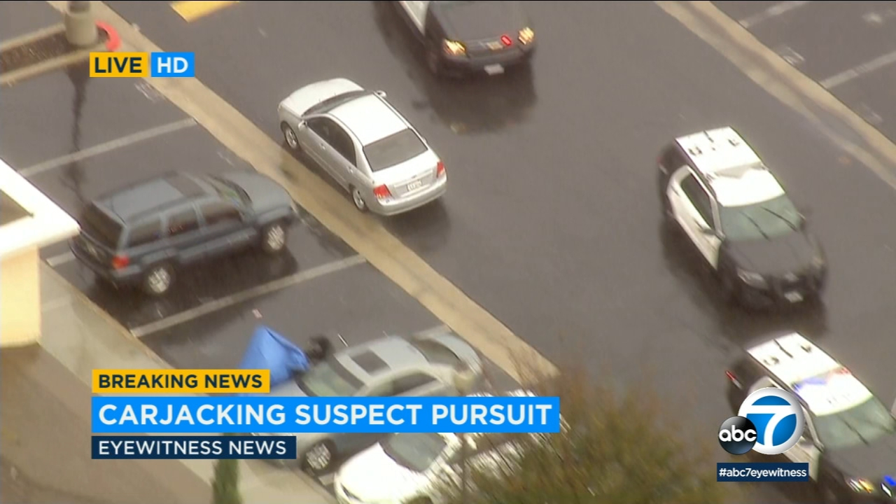chase: carjacking suspect in custody after leading deputies on