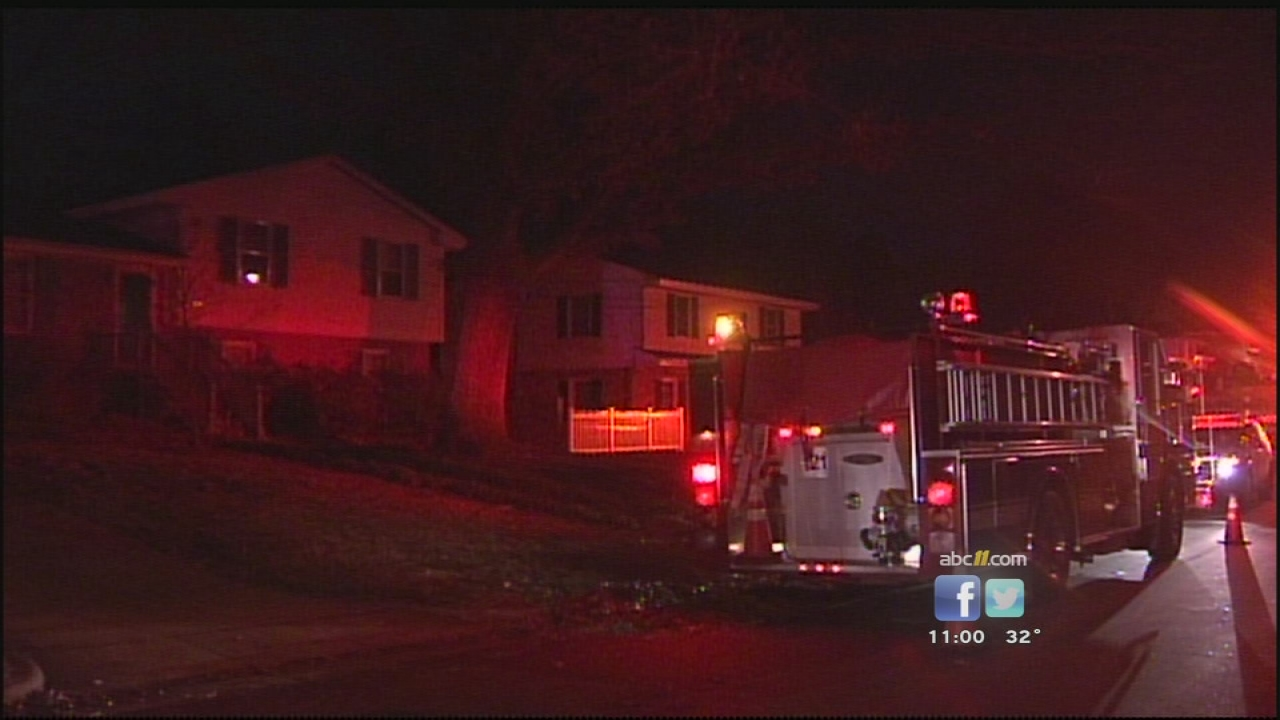 Raleigh house fire on Julian Drive