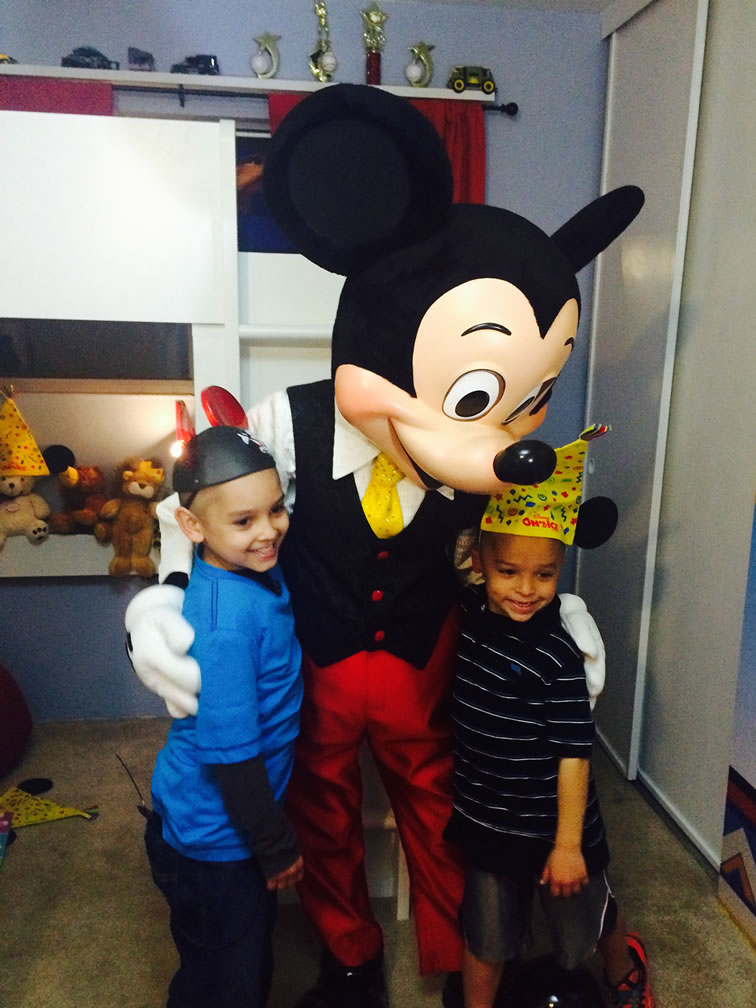 """<div class=""""meta image-caption""""><div class=""""origin-logo origin-image none""""><span>none</span></div><span class=""""caption-text"""">With the help of Special Spaces, Disney On Ice, Feld Entertainment volunteers Austin got a bedroom makeover to help him battle leukemia. (Feb. 6, 2015/ABC7 News)</span></div>"""