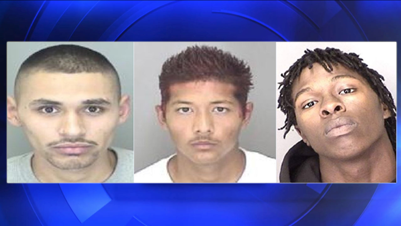 Merced police arrest 3 in car theft investigations
