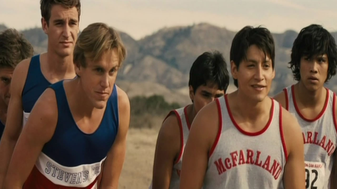 "A scene from the movie ""McFarland, USA""."