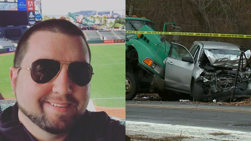 NYPD officer killed in 2-vehicle crash with garbage truck in the Bronx